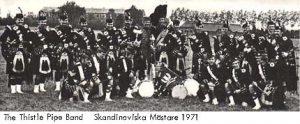 Bandet vinner Skandinaviska Mästerskapen 1971